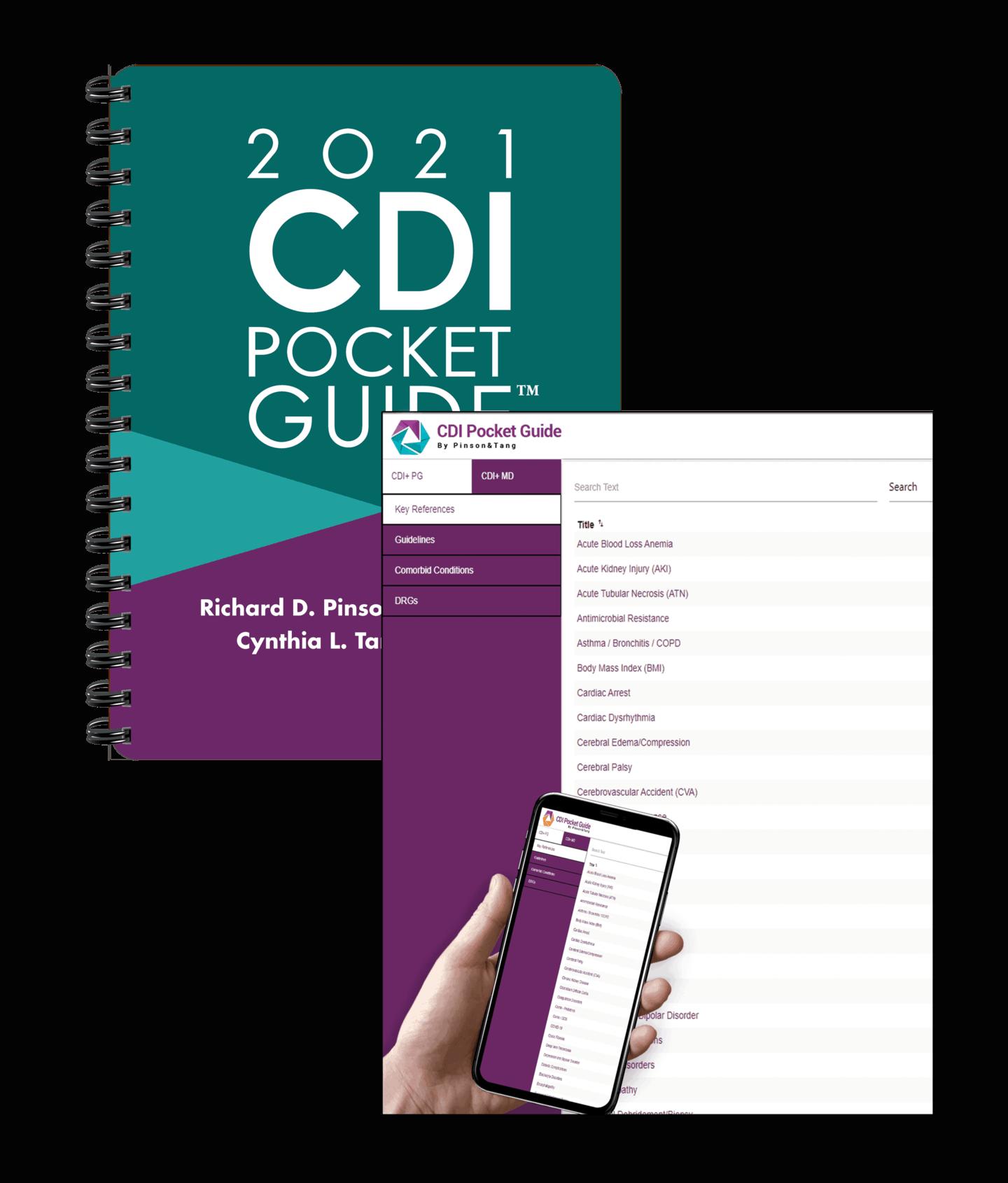 The Pinson and Tang 2020 CDI Pocket Guide