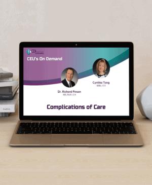 Complications of Care webinar